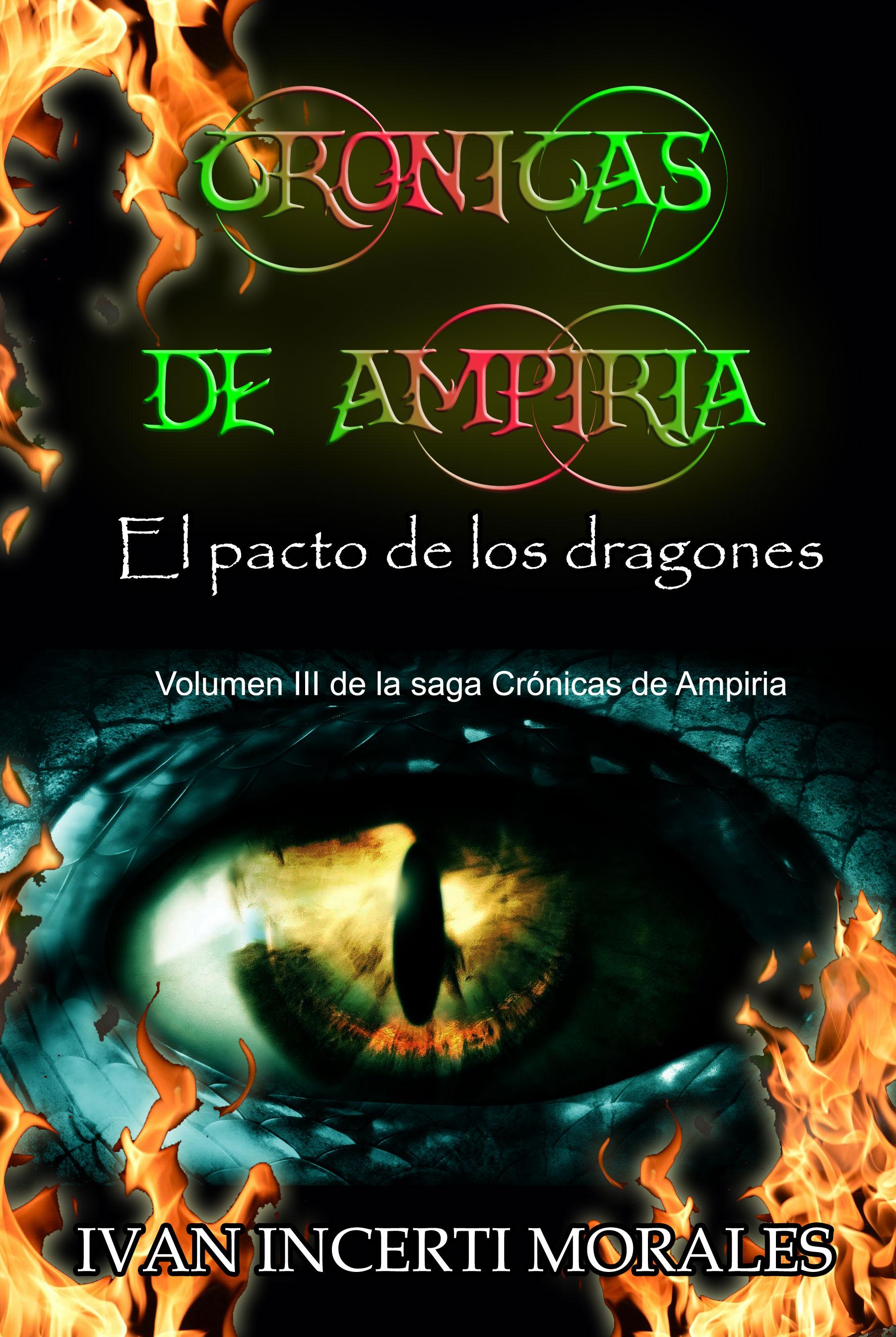 Crónicas de Ampiria: El pacto de los dragones, ya la venta